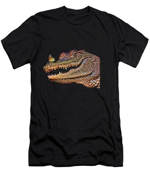 Gator Smile Men's T-Shirt (Athletic Fit)