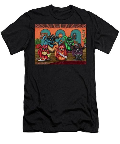 Gatos De Santa Fe Men's T-Shirt (Athletic Fit)