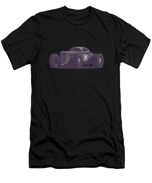 Gaz Gl1 Custom Vintage Hot Rod Classic Street Racer Car - Aqua Men's T-Shirt (Athletic Fit)