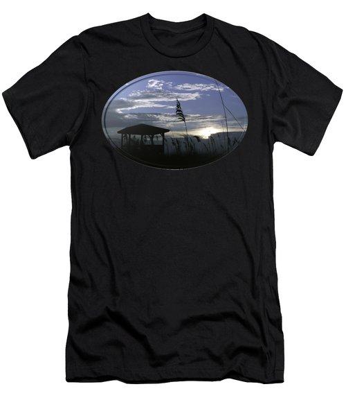 Gazebo In The Dunes Men's T-Shirt (Athletic Fit)