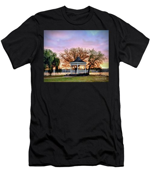 Gazebo Sunrise At Claytor Lake Men's T-Shirt (Athletic Fit)