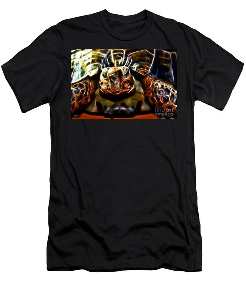 Gazing Turtle Men's T-Shirt (Athletic Fit)