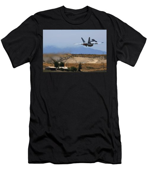 Gear Up Afterburner On Men's T-Shirt (Athletic Fit)