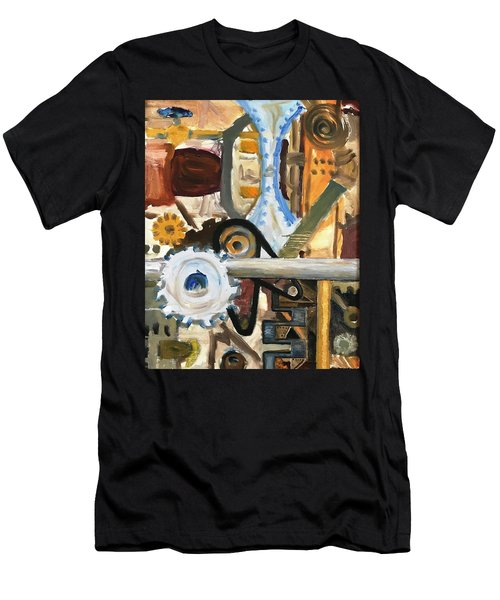 Gears In The Machine Men's T-Shirt (Athletic Fit)