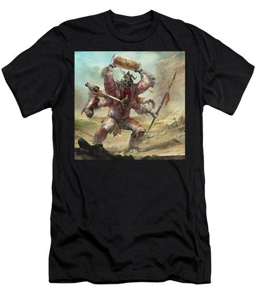 Gegenees Giant Men's T-Shirt (Athletic Fit)
