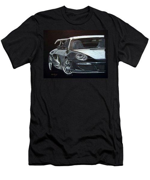Gemballa Porsche Right Men's T-Shirt (Athletic Fit)