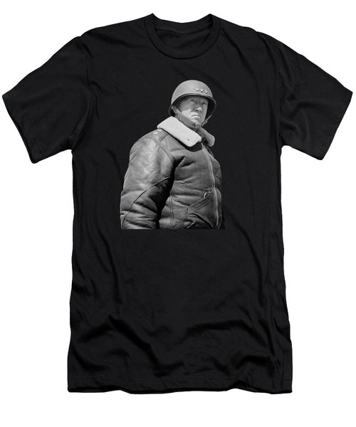 General George S. Patton Men's T-Shirt (Slim Fit) by War Is Hell Store