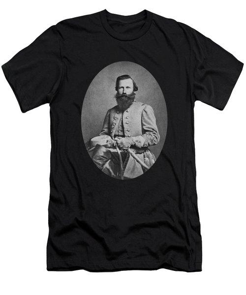 General J.e.b. Stuart - Confederate Army General Men's T-Shirt (Athletic Fit)