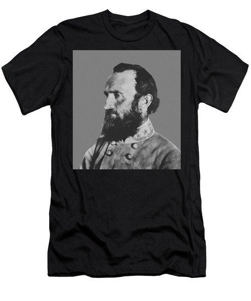 General Stonewall Jackson Profile Men's T-Shirt (Athletic Fit)