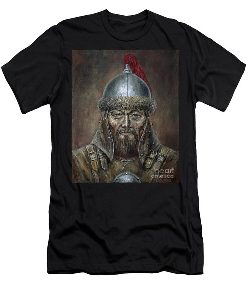 Genhis Khan Men's T-Shirt (Athletic Fit)