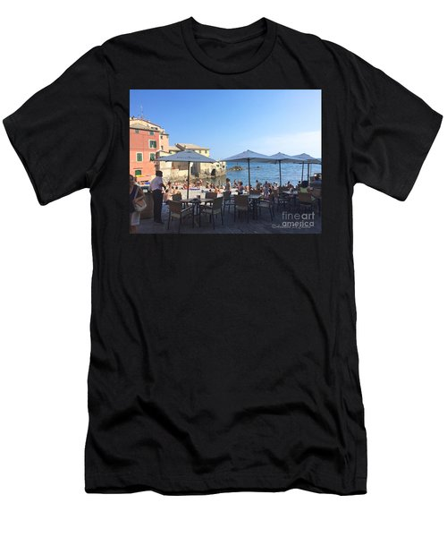 Genova, Boccadasse Men's T-Shirt (Athletic Fit)