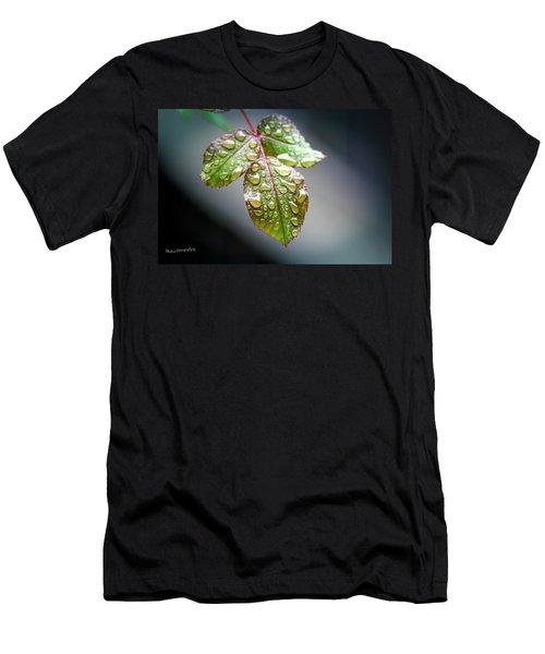 Gentle Rain Drops Men's T-Shirt (Athletic Fit)