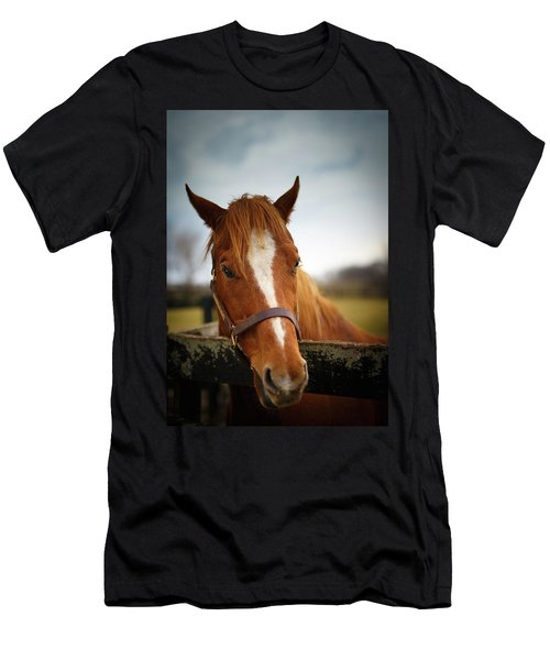 Men's T-Shirt (Slim Fit) featuring the photograph Genuine Reward by Shane Holsclaw