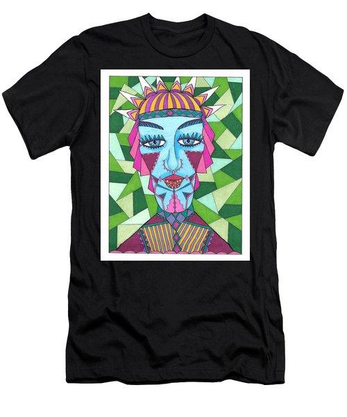 Geometric King Men's T-Shirt (Athletic Fit)