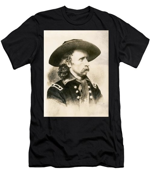 George Armstrong Custer  Men's T-Shirt (Athletic Fit)