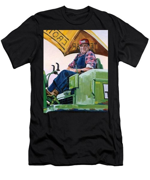George The Artist Men's T-Shirt (Athletic Fit)