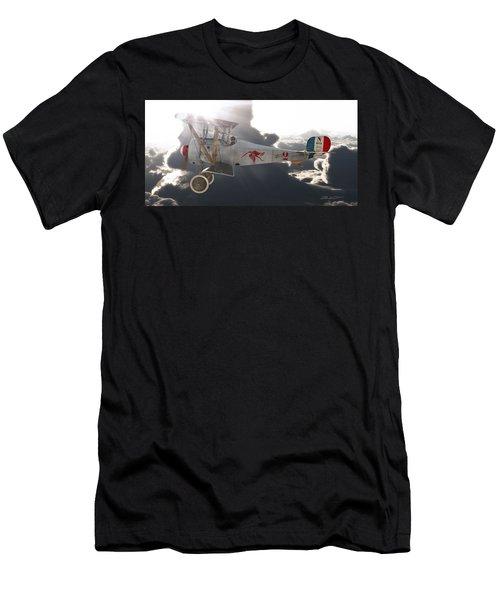 Georges Guynemer Nieuport 17 Men's T-Shirt (Slim Fit) by David Collins