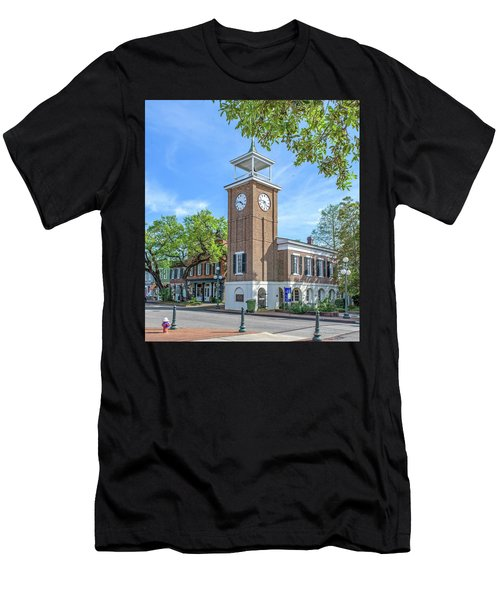 Georgetown Clock Tower Men's T-Shirt (Athletic Fit)