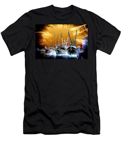 Georgetown Fantasy Shrimpers Men's T-Shirt (Athletic Fit)