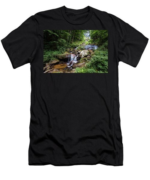 Georgia Mountain Stream Men's T-Shirt (Athletic Fit)