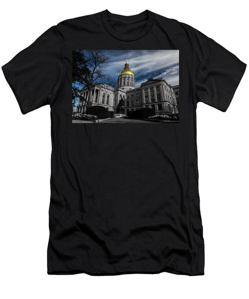 Georgia State Capital Men's T-Shirt (Athletic Fit)