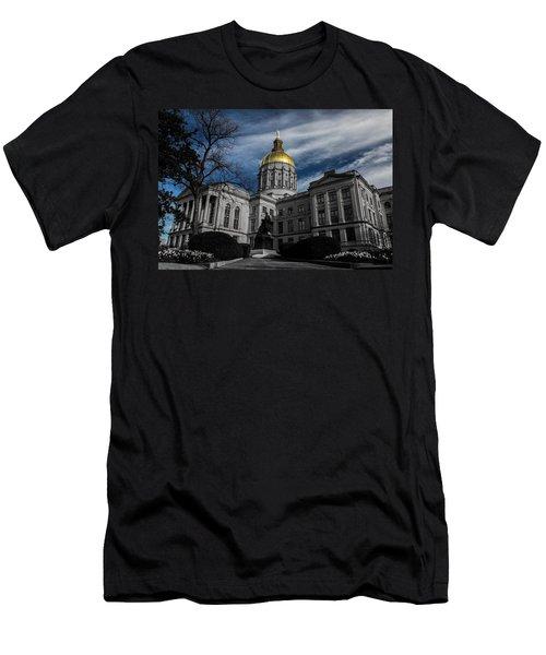 Georgia State Capital Men's T-Shirt (Athletic Fit)