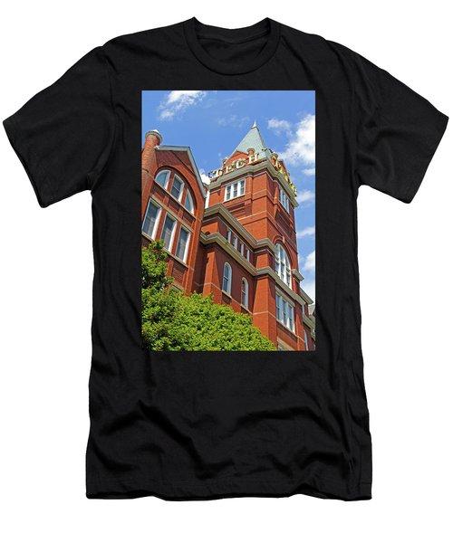 Georgia Tech Tower 3 Men's T-Shirt (Athletic Fit)