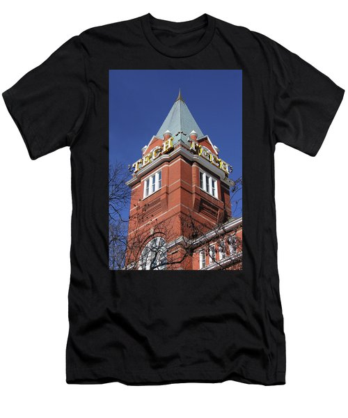 Georgia Tech Tower Men's T-Shirt (Athletic Fit)
