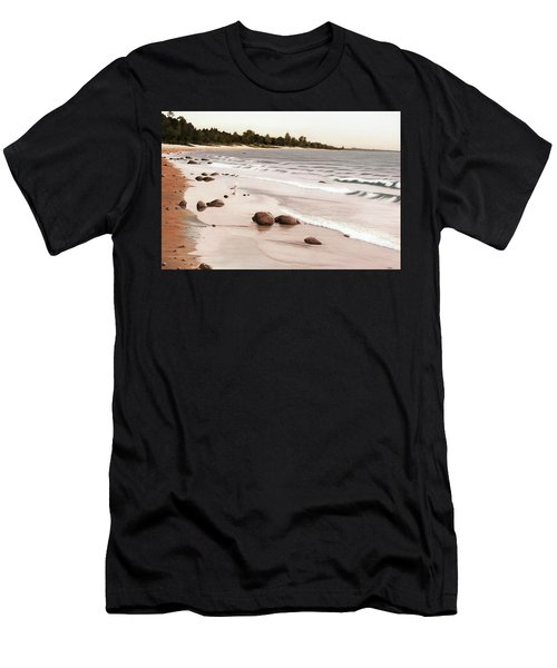 Georgian Bay Beach Men's T-Shirt (Athletic Fit)