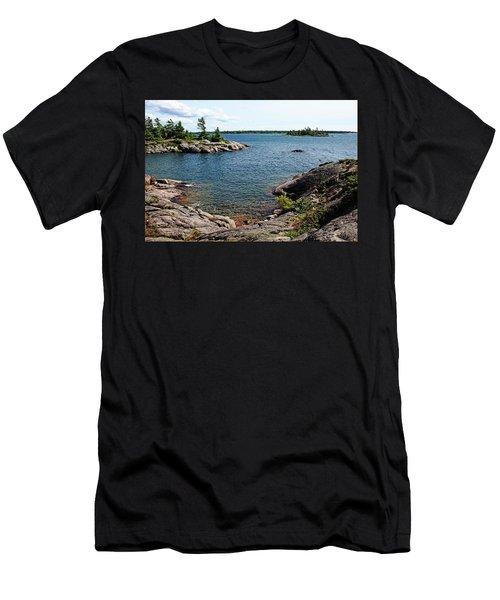 Georgian Bay Islands Men's T-Shirt (Athletic Fit)