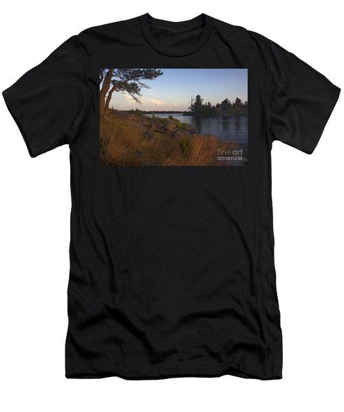 Georgian Bay Sunrise-4300 Men's T-Shirt (Athletic Fit)