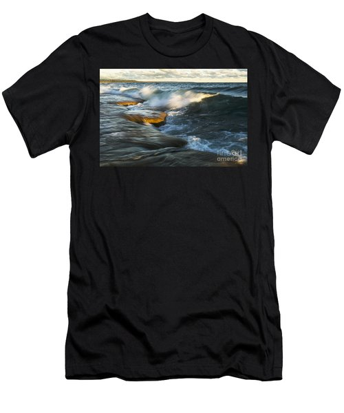 Georgian Bay Sunrise Men's T-Shirt (Athletic Fit)