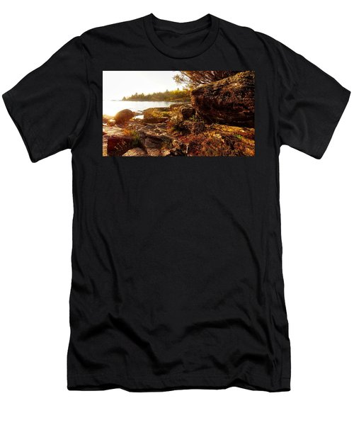 Georgian Bay Sunset Men's T-Shirt (Athletic Fit)