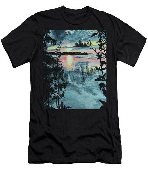 Georgian Bay Sunset Men's T-Shirt (Athletic Fit)