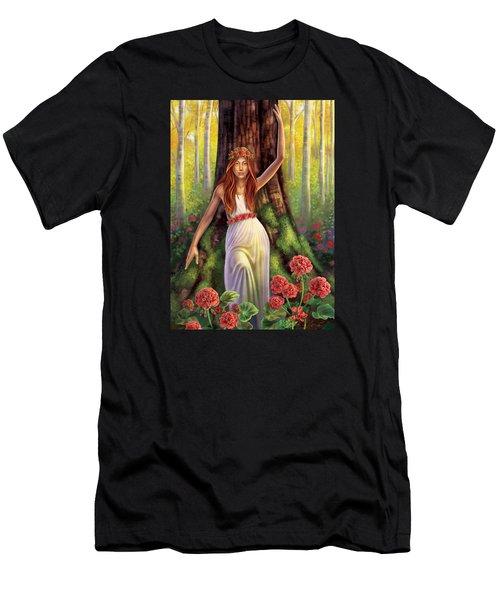 Geranium - Resilience Men's T-Shirt (Athletic Fit)