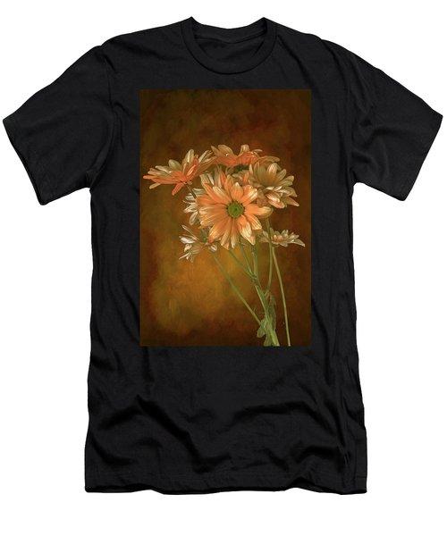 Gerbera Daisies Men's T-Shirt (Athletic Fit)