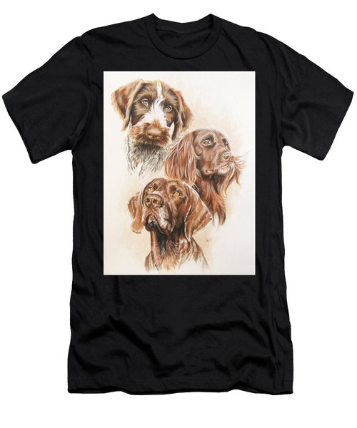 German Pointer Men's T-Shirt (Athletic Fit)