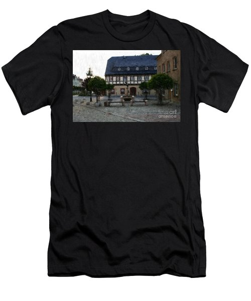 German Town Square Men's T-Shirt (Athletic Fit)