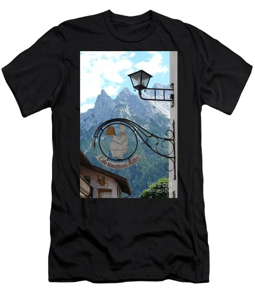 Germany - Cafe Sign Men's T-Shirt (Athletic Fit)