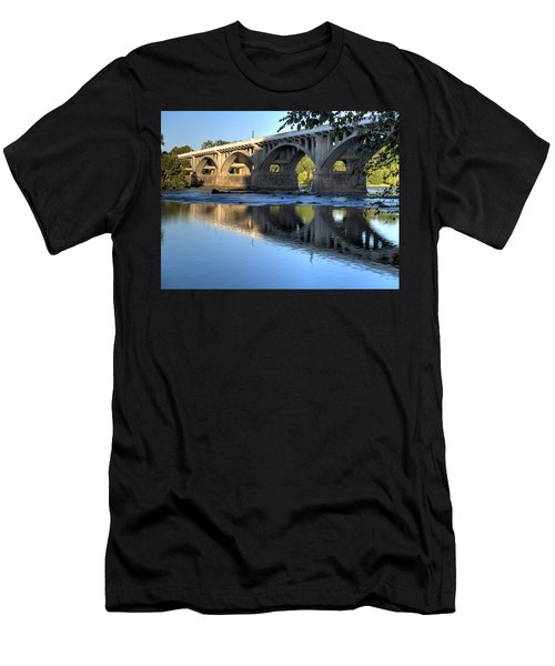 Gervais Street Bridge-1 Men's T-Shirt (Athletic Fit)