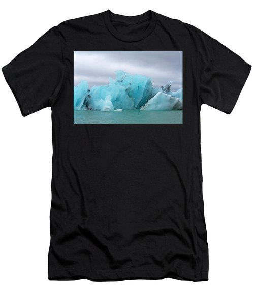 Get Inspired Glacier Lagoon Men's T-Shirt (Athletic Fit)