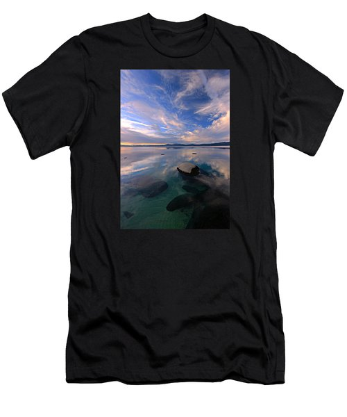 Get Into Nature Men's T-Shirt (Slim Fit) by Sean Sarsfield