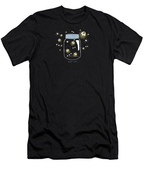 Get Lit Men's T-Shirt (Athletic Fit)