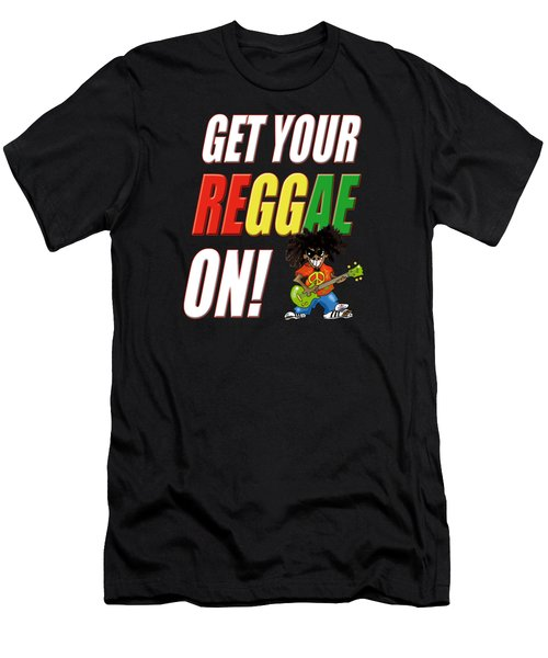 Get Your Reggae On Men's T-Shirt (Athletic Fit)
