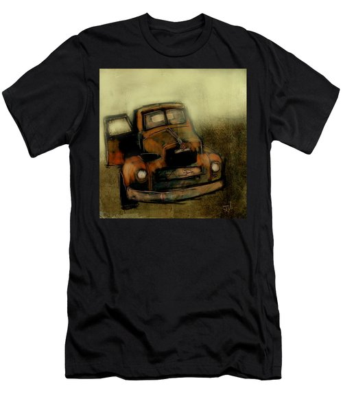Getaway Truck Men's T-Shirt (Slim Fit) by Jim Vance