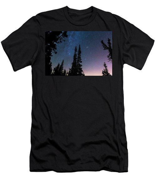 Men's T-Shirt (Slim Fit) featuring the photograph Getting Lost In A Night Sky by James BO Insogna