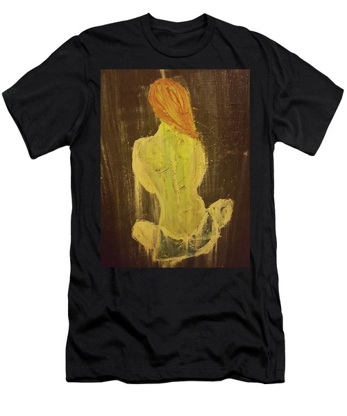Silence Men's T-Shirt (Slim Fit) by Jennifer Meckelvaney