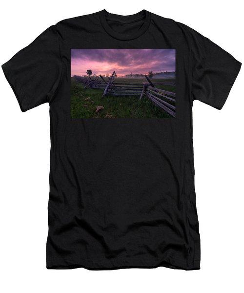 Gettysburg Mornings... Men's T-Shirt (Athletic Fit)
