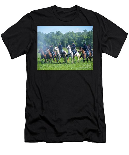 Gettysburg  Union Cavalry Men's T-Shirt (Athletic Fit)