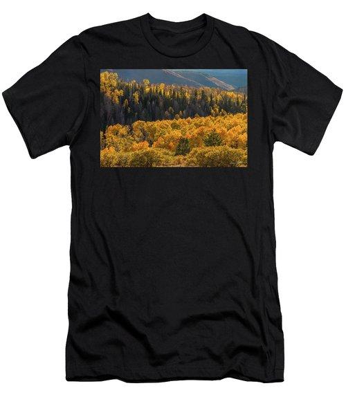Geyser Pass Road, La Sal Mountains Men's T-Shirt (Athletic Fit)